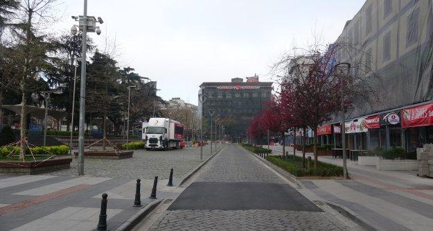 Trabzon#039;da sokağa çıkma yasağında kaç kişiye ceza kesildiğini belli oldu.