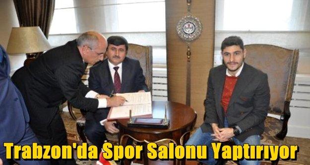 Trabzon#039;da Spor Salonu Yaptırıyor