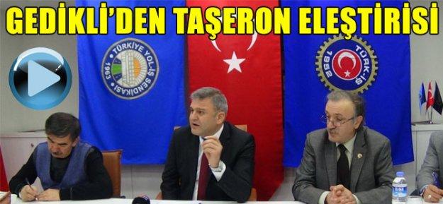 Trabzon#039;da Taşeron Eleştirisi