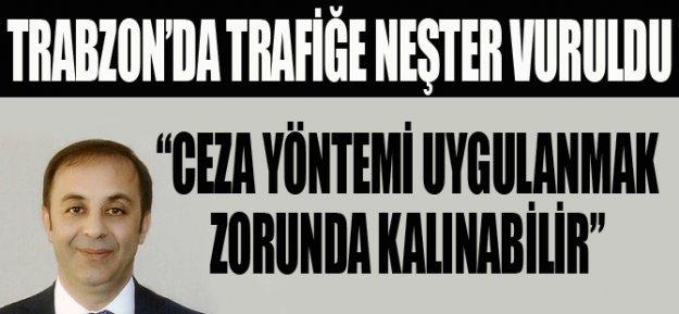 Trabzon#039;da Trafiğe Neşter Vuruldu