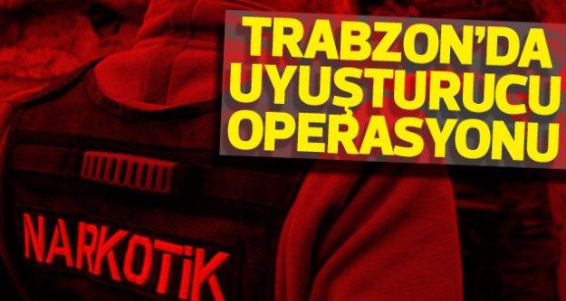 Trabzon'da uyuşturucuya darbe
