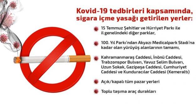 Trabzon'da yasak getirilen alanlar açıklandı!