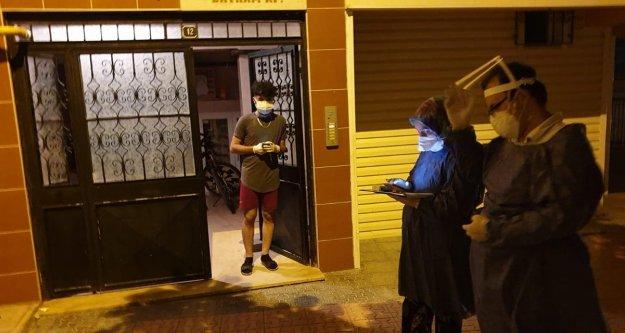 Trabzon İl Sağlık Müdürlüğü,Filyasyon Ekibi Sahada Mücadeleye Devam Ediyor.