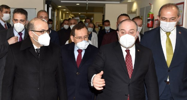 Trabzon iş dünyasının talepleri Bakan Varank'a iletildi.