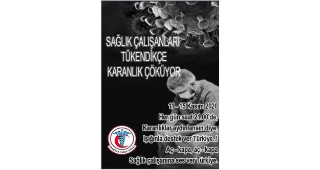Trabzon Tabip Odası,  vatandaşları duyarlılığa çağırdı.