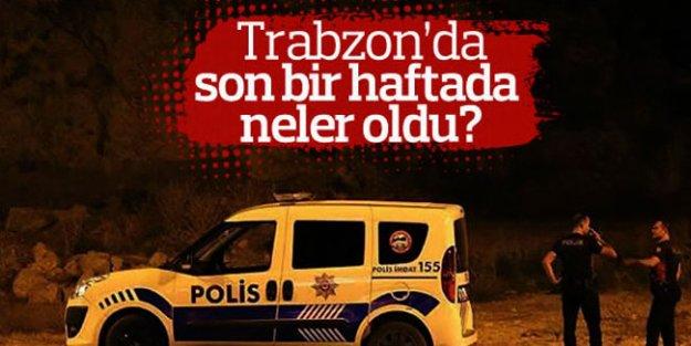 Trabzon'da 1 haftada 48 kişi yakalandı