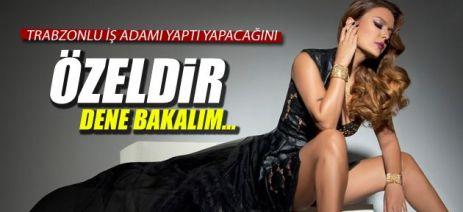 Trabzonlu iş adamı yaptı yapacağını