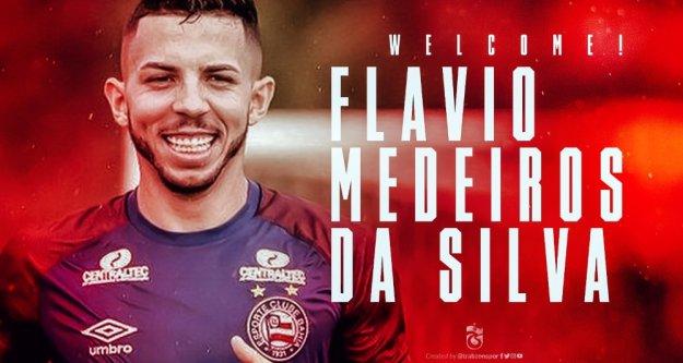 Trabzonspor'a hoş geldin Flavio!