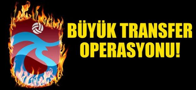 Trabzonspor#039;da Büyük Transfer Operasyonu
