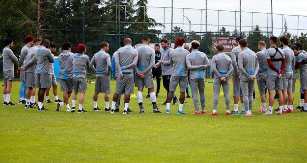 Trabzonspor da kuvvet çalışmaları gerçekleştirildi.