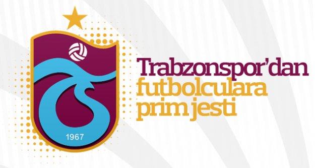 Trabzonspor'da oyuncuların primleri yatırıldı