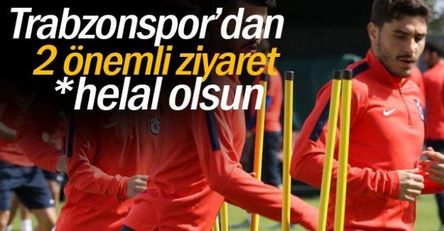 Trabzonspor#039;dan 2 önemli ziyaret
