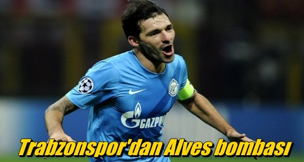 Trabzonspor'dan Alves bombası