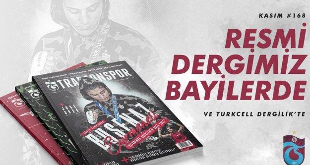 Trabzonspor Dergimizin 168. sayısı bayilerde...
