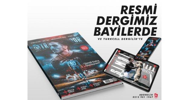 Trabzonspor dergisinin 174. sayısı bayilerde...