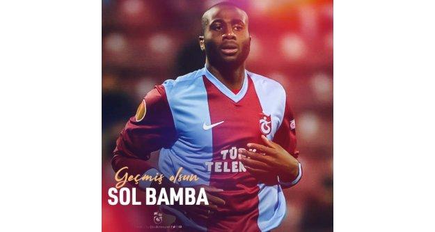Trabzonspor kansere yakalanan Bamba için mesaj yayınladı.