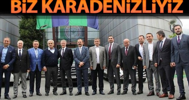 Trabzonspor Rizespor#039;u ziyaret etti