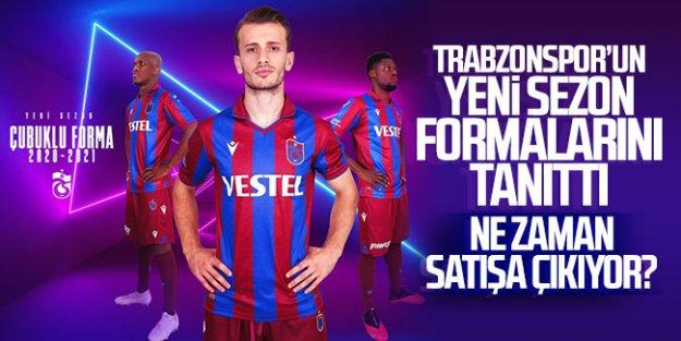 Trabzonspor'un yeni sezon çubuklu forması satışa çıkıyor.