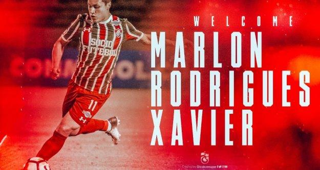 Trabzonspor'a hoş geldin Marlon Rodrigues Xavier
