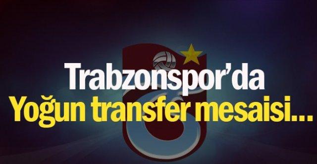 Trabzonsporda transfer mesaisi yoğun geçiyor…