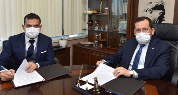 TTSO ile Halkbank arasında Güvenceli Tedarik Zinciri Finansmanı Anlaşması imzalandı.