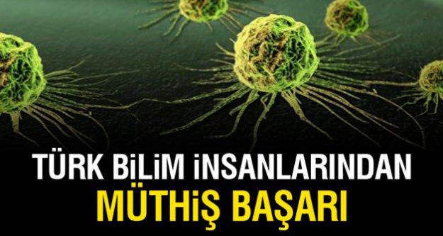 Türk bilim insanlarından müthış başarı