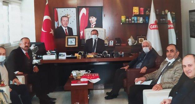 Türkiye Kamu-Sen'den Genel Müdür Alim'e ziyaret