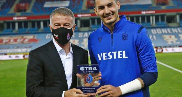 Uğurcan Çakır Socios.com'da sezonun oyuncusu seçildi