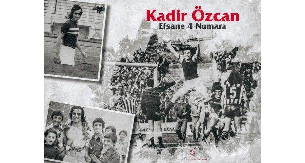 Unutulmaz 4 numara: Kadir Özcan!