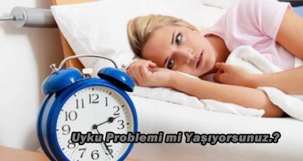 Uyku Problemi mi Yaşıyorsunuz?