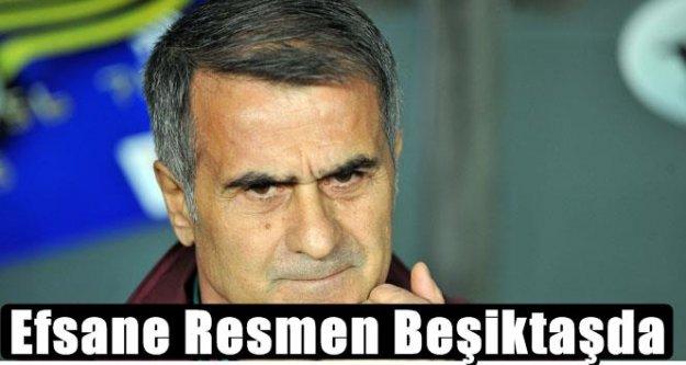 Ve Şenol Güneş resmen Beşiktaş'ta
