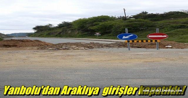 Yanbolu'da yol isyanı...